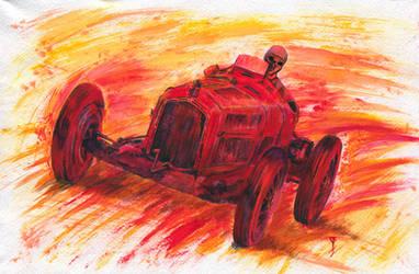 Alfa Romeo P3 by Volhovsky