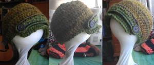 Green Baby Newsboy cap