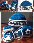 Bitty Blue Converse