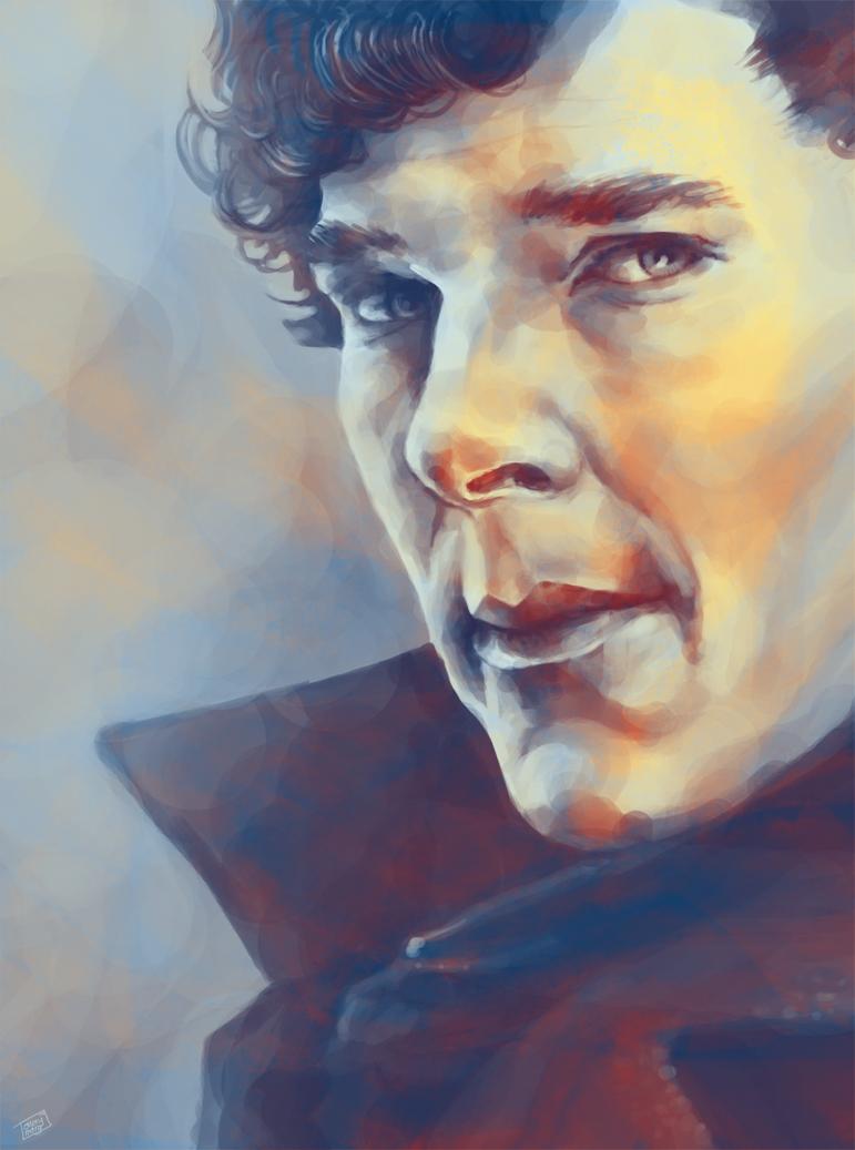 Sherlock II by galadhriela