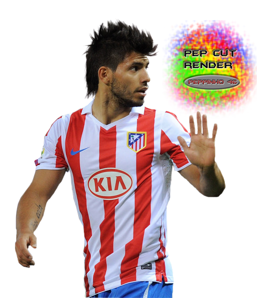 sale retailer 2a3ae e11ff RENDER AGUERO ATLETICO MADRID !!!HD by Peppinho46 on DeviantArt