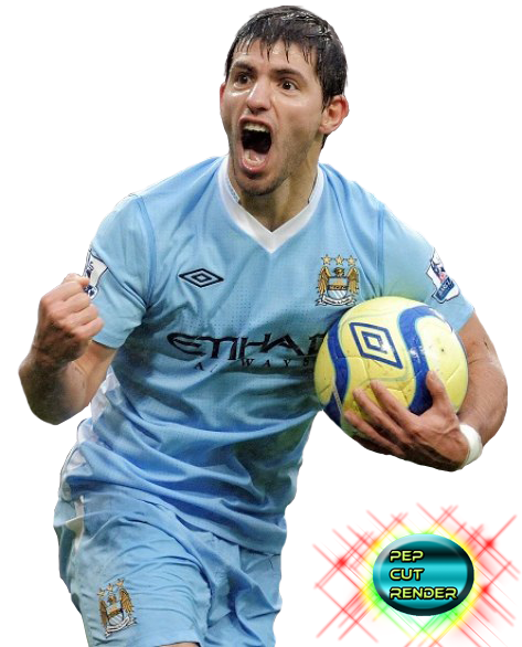RENDER SERGIO EL KUN AGUERO HD!!! By Peppinho46 On DeviantArt