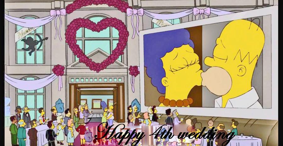 Happy 4th Wedding by Kataang102