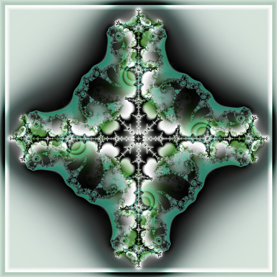 Bleu Croix Deux by mindpoet61