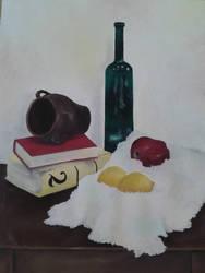 Still life by Orisek-Akinari