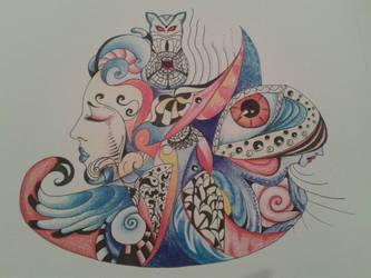 Colors in Wonderland by Orisek-Akinari