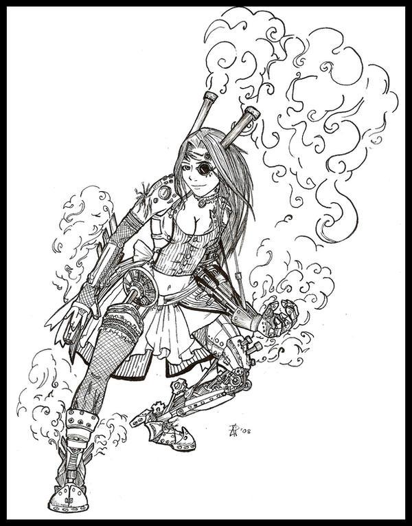 Steampunk Lolita by Kziki