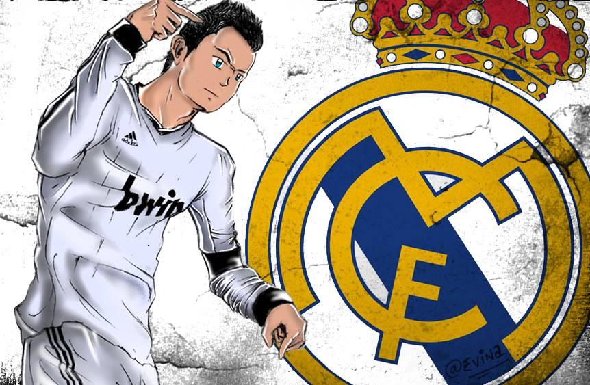 Ronaldo Anime Style 2 By ThelatenightDeviant