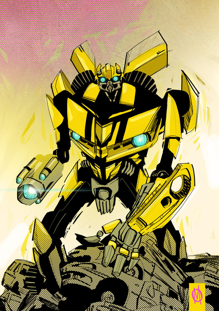 Bumblebee by MikeOppArt