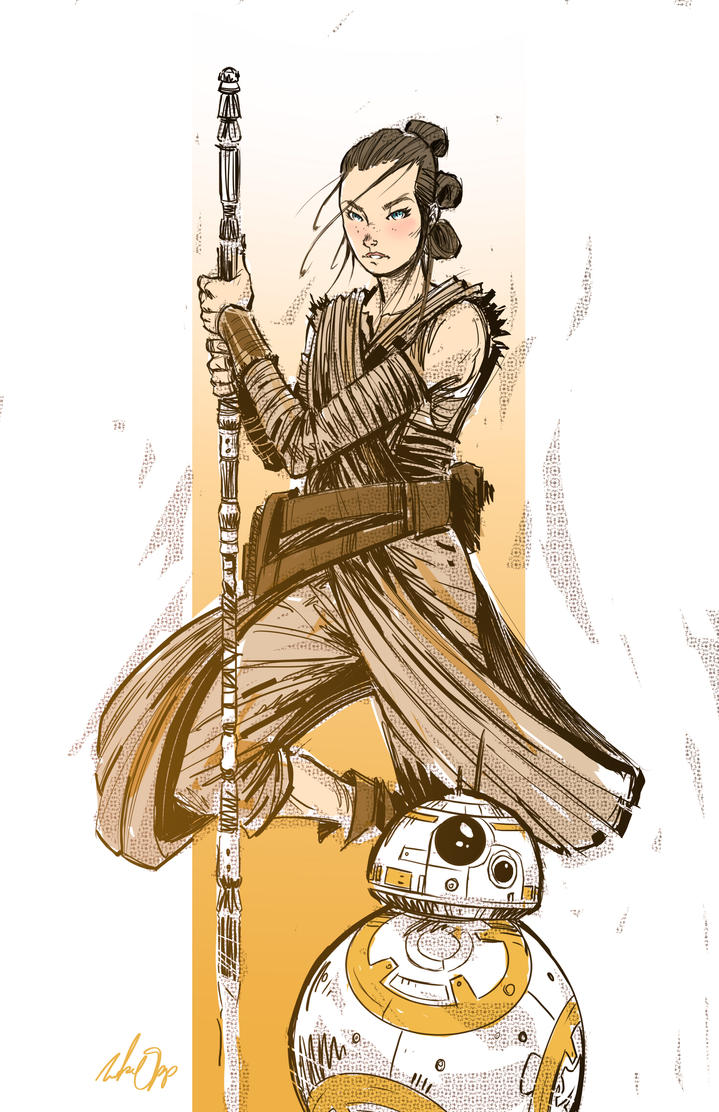Rey by MikeOppArt