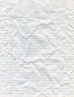 Crumpled Looseleaf Paper by Cliffski