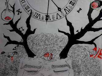 37.-Time is falling by Sollrack