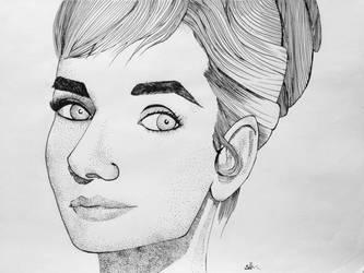 Audrey Hepburn by Sollrack