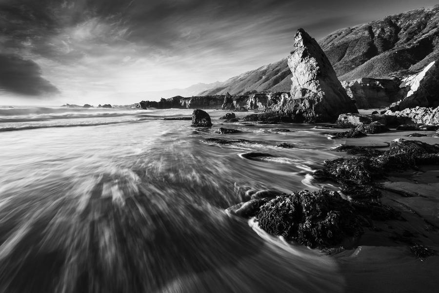 Sea Stack Sanctuary by fistfulofneurons