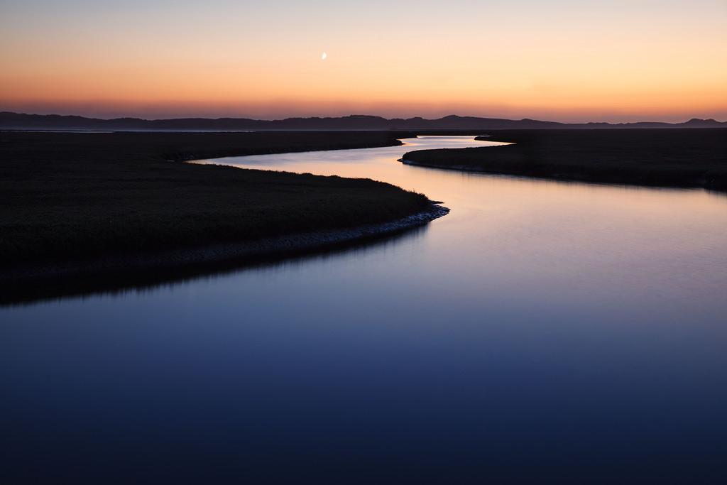 Estuary Twilight by fistfulofneurons