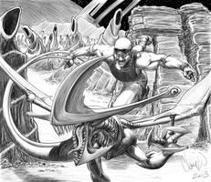 Riddick goes Hunting