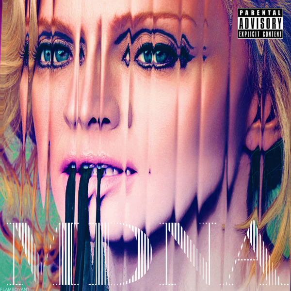 <b>Madonna - MDNA</b> by FlamboyantDesigns ... - madonna___mdna_by_flamboyantdesigns-d5pz6od