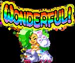 WONDERFUL felicia rainbow thingy by clownymoon