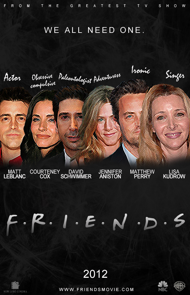 Friends Movie Poster By Agustin09