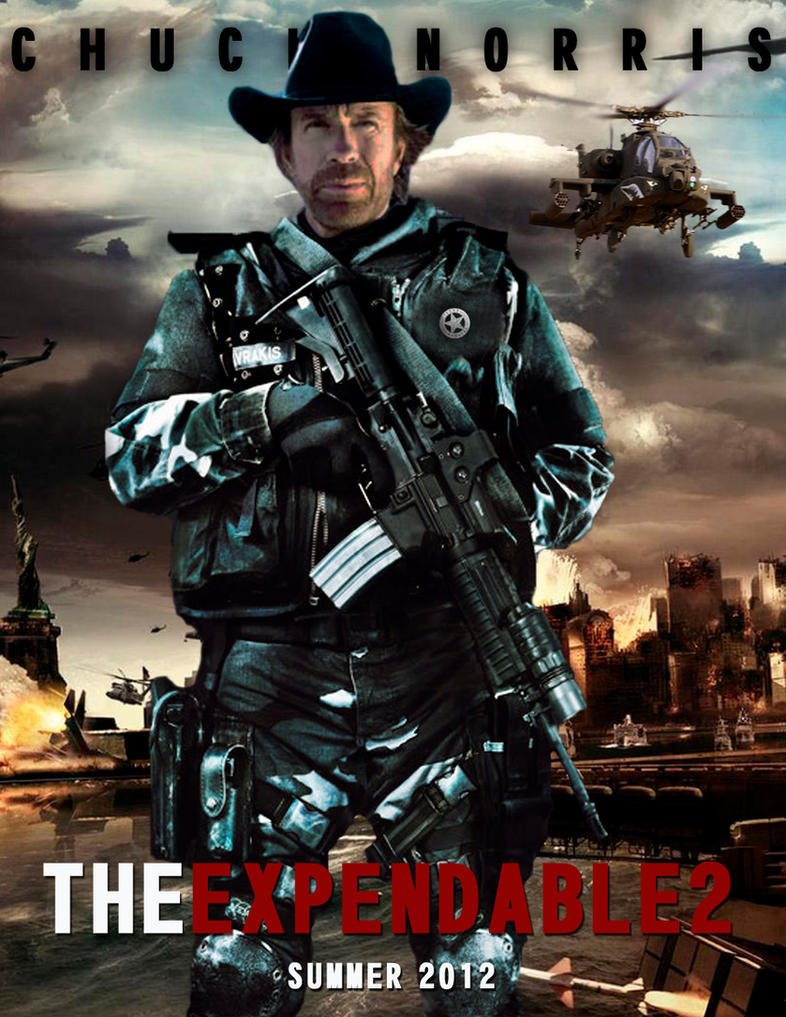 the expendables 2 chuck norrisagustin09 on deviantart