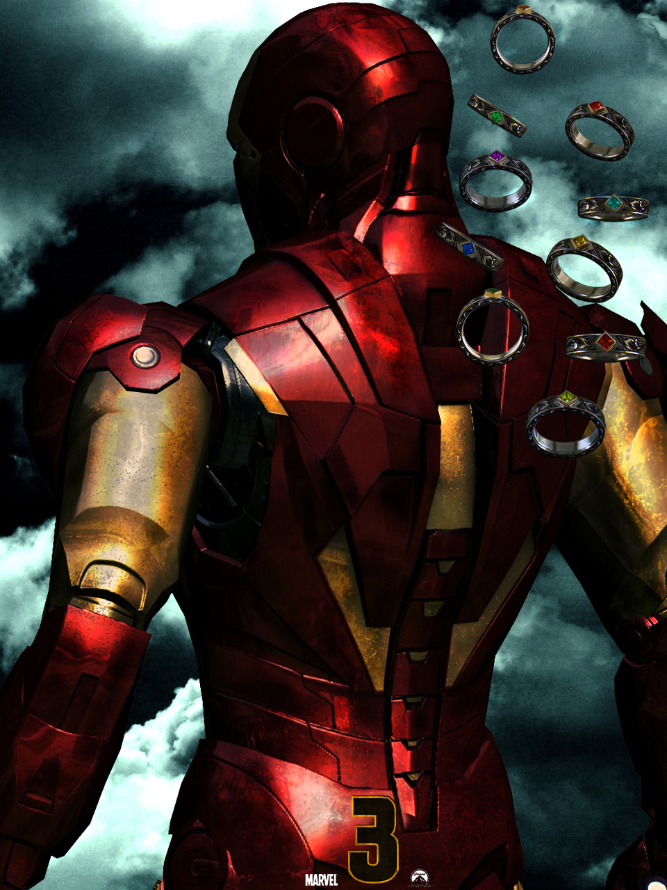 Iron man 3 by agustin09