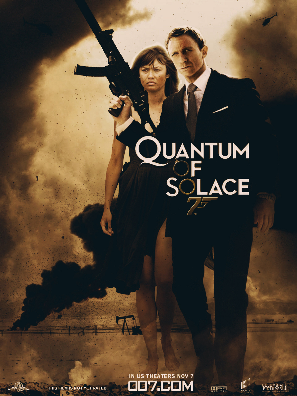 Quantum of solace poster by agustin09 on DeviantArt
