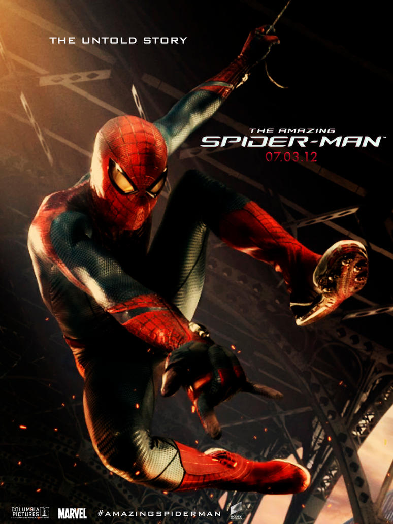 The amazing spider-man unofficial poster by agustin09