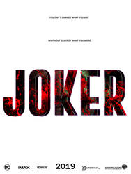 Teaser poster Joker 2019 by agustin09
