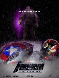 Avengers endgame TDKR style by agustin09