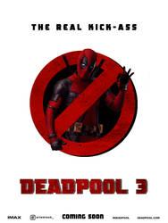 Teaser Deadpool 3 by agustin09