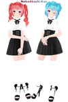 [MMD,Tda]High Society Miku,Teto [DL!]