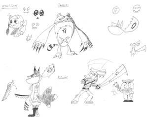 Monochrome: Cartoon rpg - Anime character ideas!
