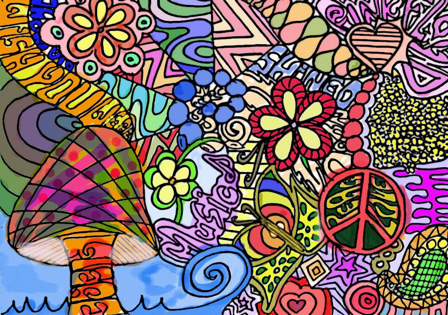 Mushroom coloured by Dominik19