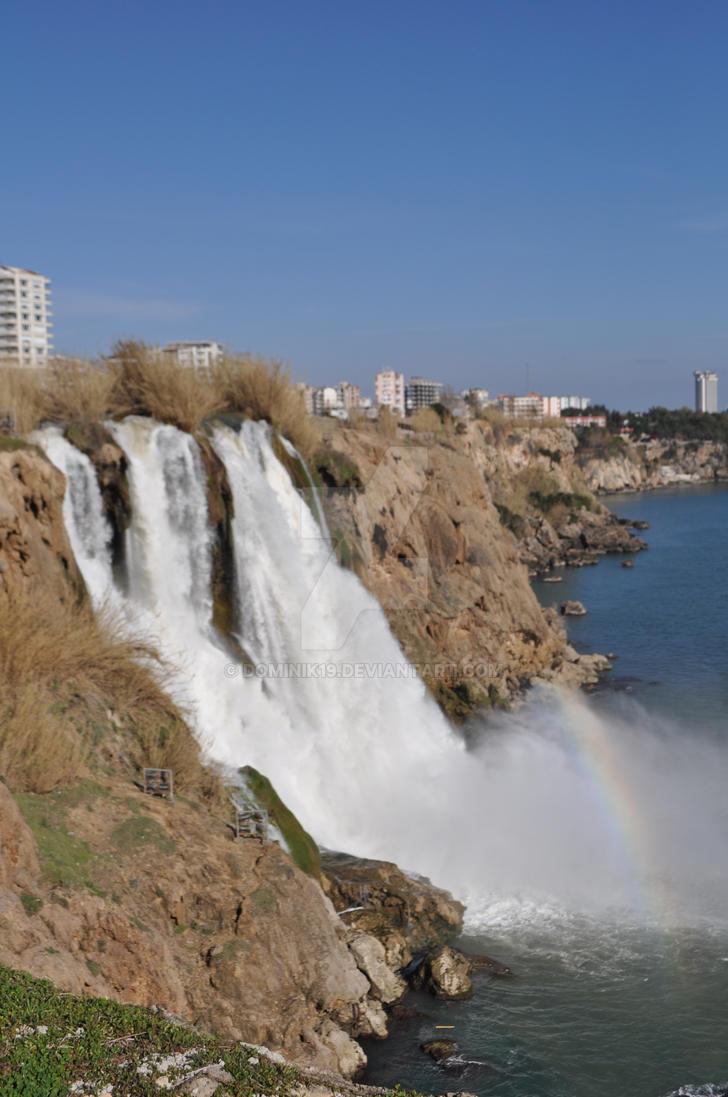 Waterfall Antalya by Dominik19