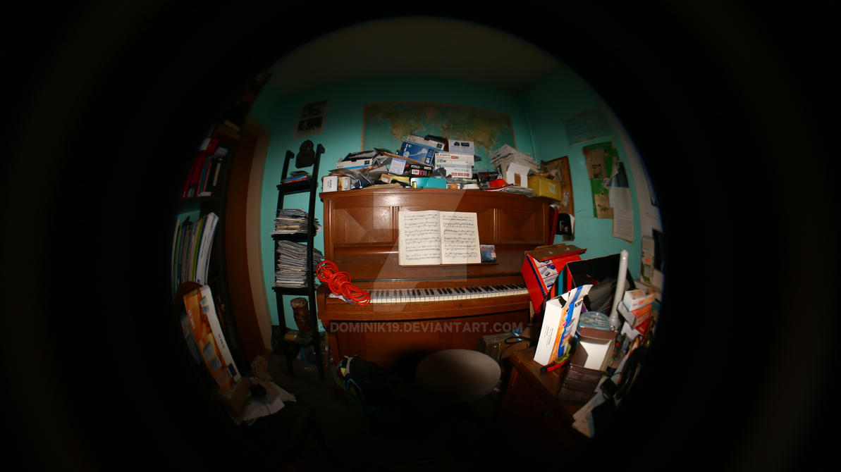 Piano Fishey by Dominik19