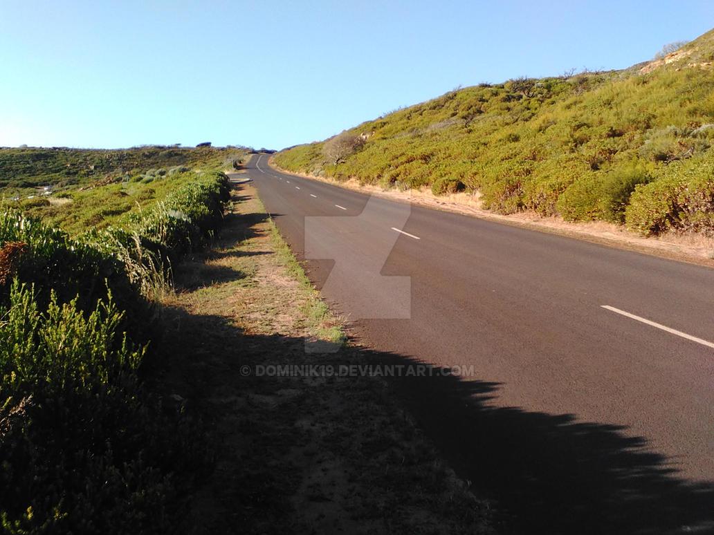 Road in gracetown Western Australia by Dominik19