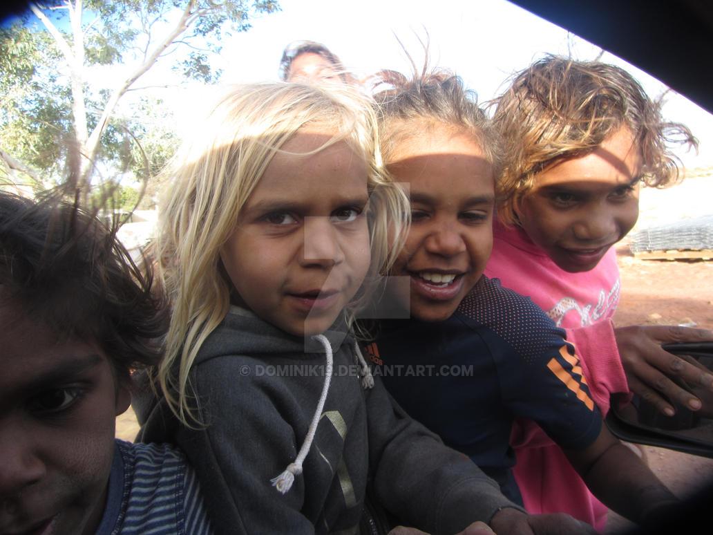 Aboriginal community by Dominik19