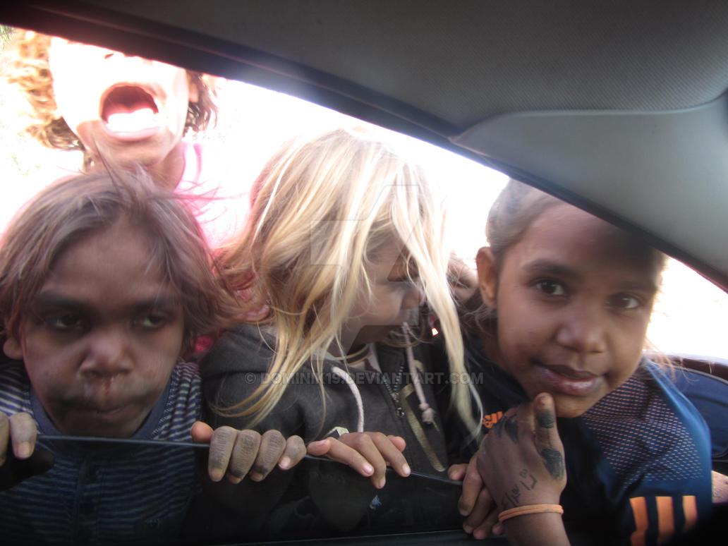 kids in Abo commu by Dominik19