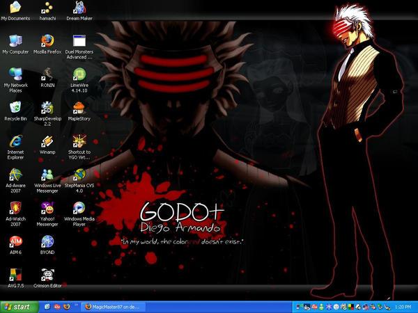 Desktop - Nov 21, 2007 by MagicMaster87