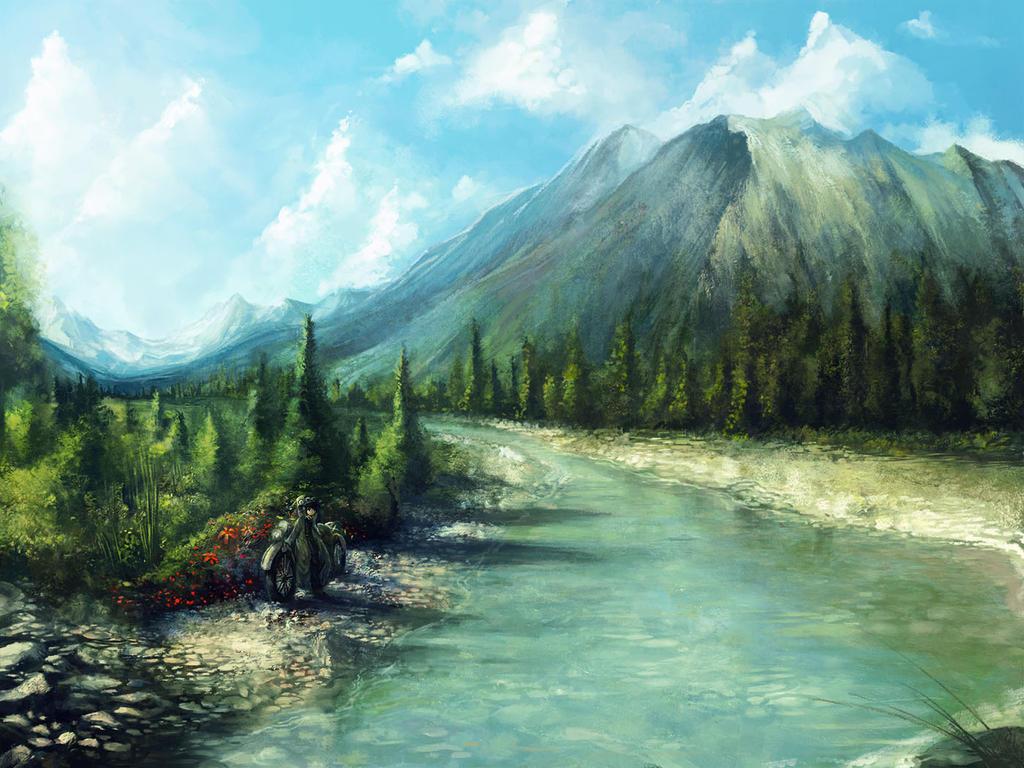 the beautiful world by yilx on deviantart