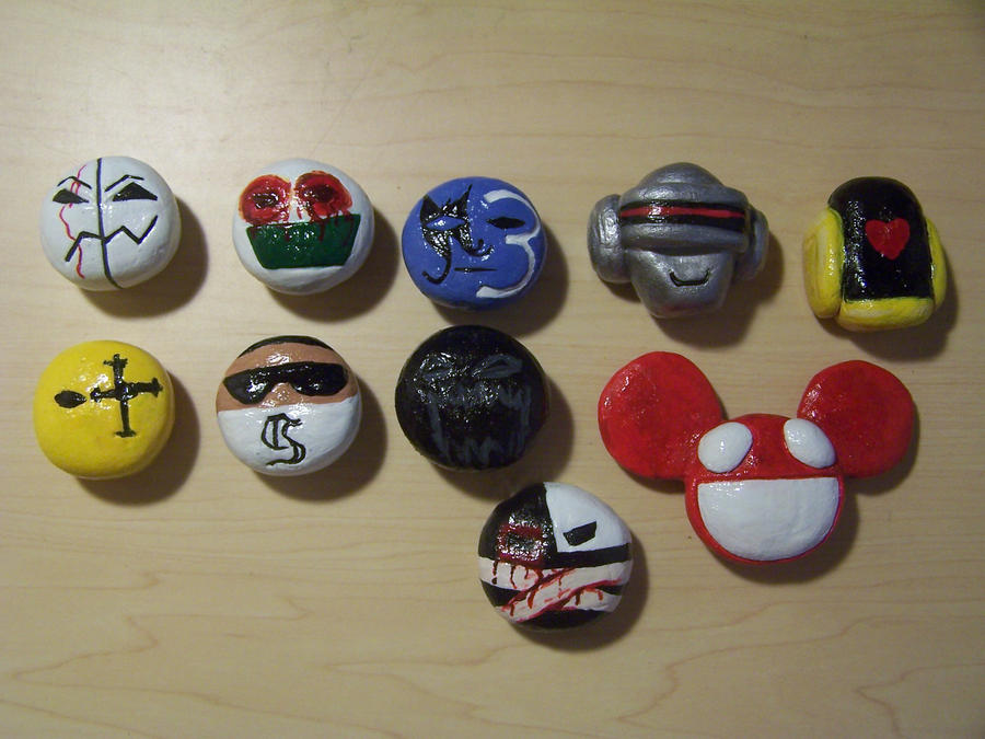 Finished Magnets by GingaAkam
