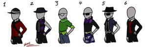 Trenderman Contest Outfit Picks