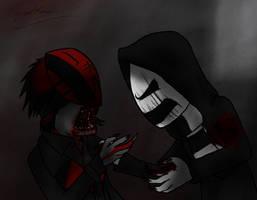 Shadow versus Venom by Jinbeizamezama