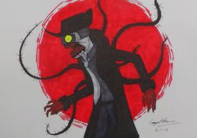 Copic markers - Zehndy is mad by Jinbeizamezama