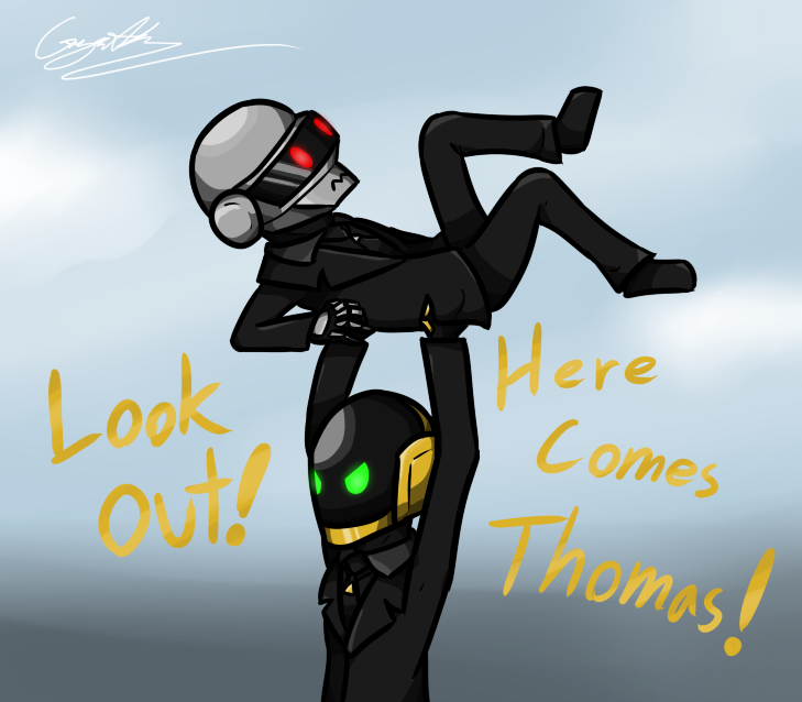 Here Comes Thomas by GingaAkam