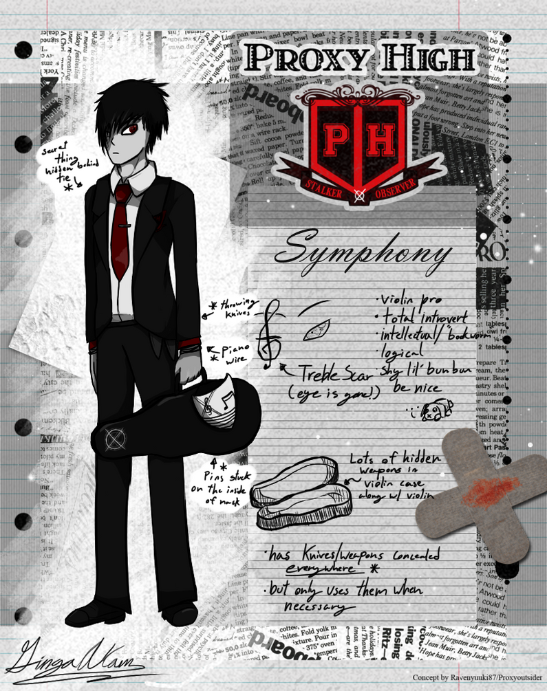 Proxy High: Symphony by GingaAkam