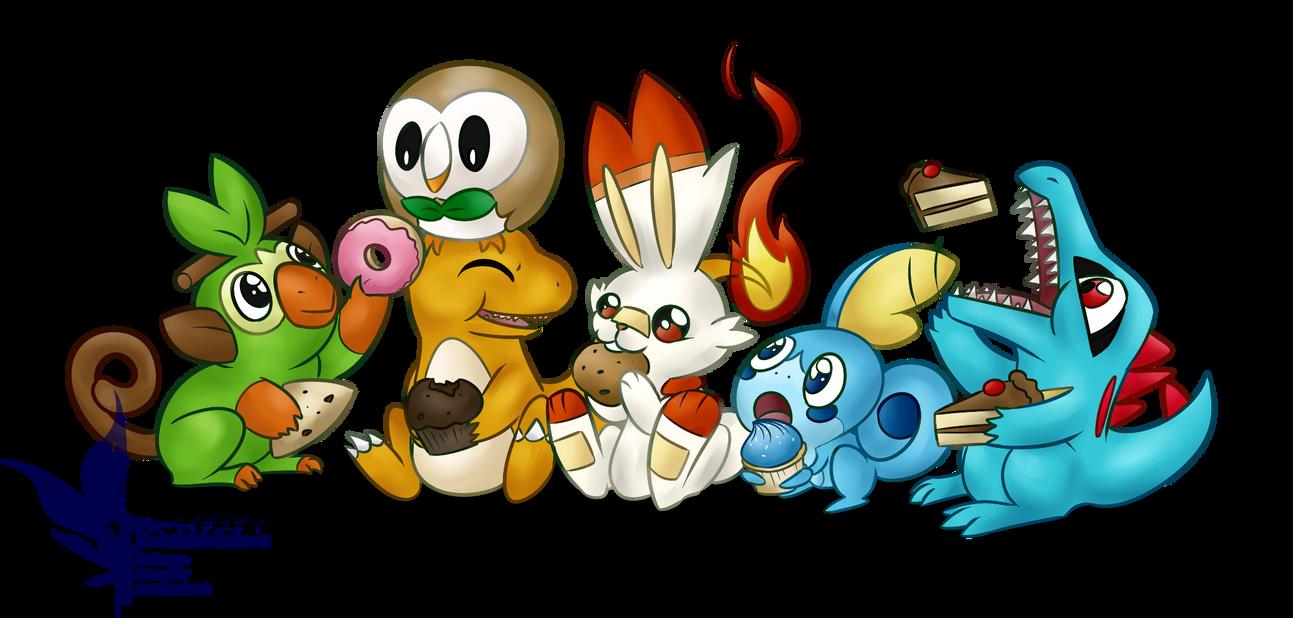 Obligatory New Pokemon Art by Jinbeizamezama