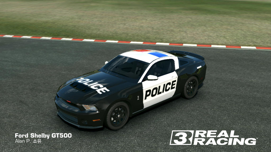 Rr3 Ford Shelby Gt500 Cop Customization By Alandpark On