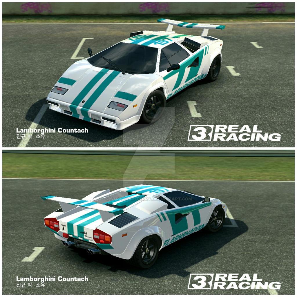 Lamborghini Countach Custom Auto Bild Idee