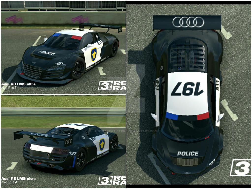 Audi R8 Lms Ultra Police Decal By Straycat Terry On Deviantart